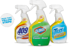 Clorox innovates cleaning with the new Smart Tube technology.